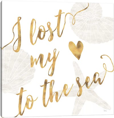 To The Sea I Canvas Art Print