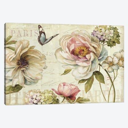Marche de Fleurs IV Canvas Print #WAC666} by Lisa Audit Canvas Art Print