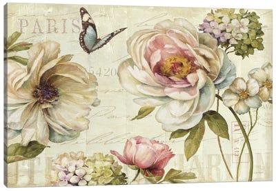 Marche de Fleurs IV Canvas Art Print