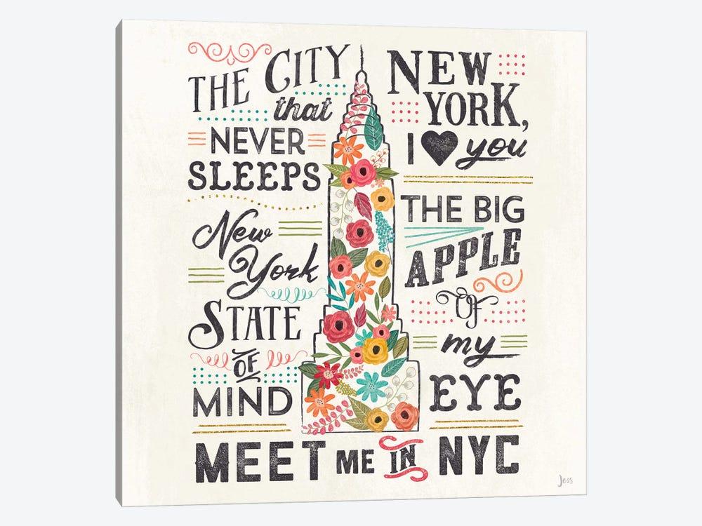 Travel Blossoms II by Jess Aiken 1-piece Art Print