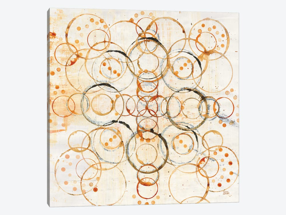 Henna Mandala I by Melissa Averinos 1-piece Canvas Artwork