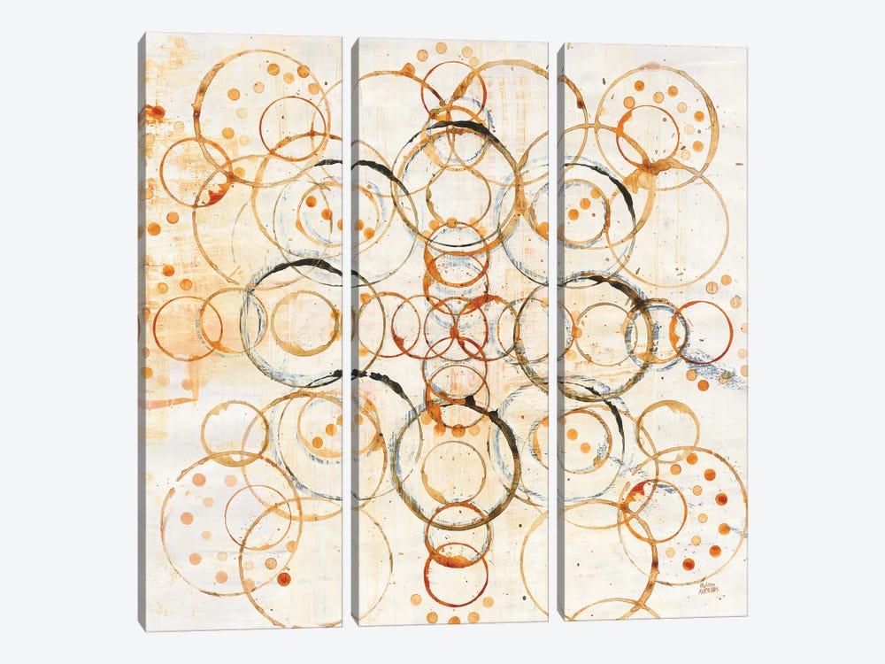 Henna Mandala I by Melissa Averinos 3-piece Canvas Wall Art