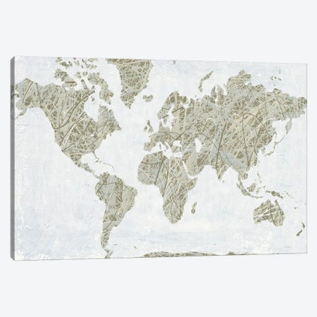 A Spinning World Canvas Print #WAC6704} by Piper Rhue Canvas Art