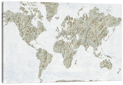 A Spinning World Canvas Art Print
