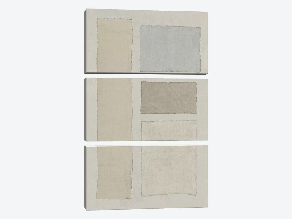 Painted Weaving III by Piper Rhue 3-piece Canvas Artwork