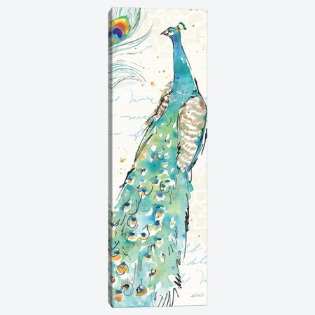 Peacock Garden III 3-Piece Canvas #WAC6714} by Anne Tavoletti Canvas Print