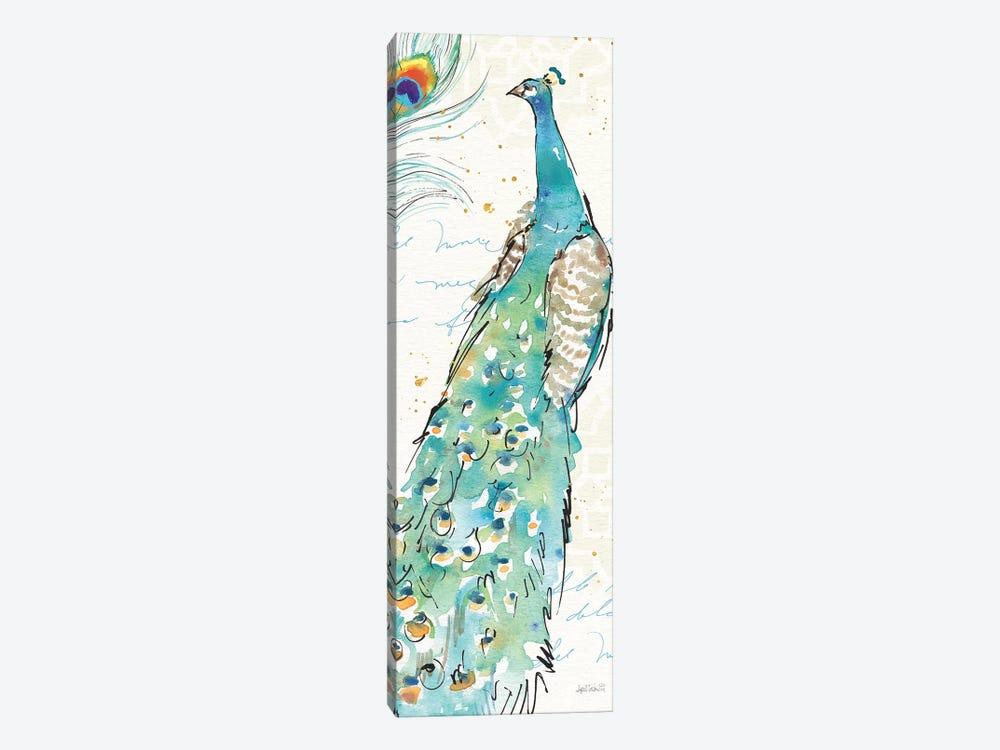Peacock Garden III by Anne Tavoletti 1-piece Canvas Art