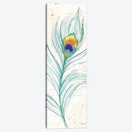Peacock Garden V Canvas Print #WAC6716} by Anne Tavoletti Canvas Print
