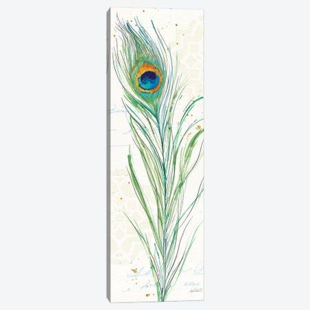 Peacock Garden VI Canvas Print #WAC6717} by Anne Tavoletti Canvas Art Print