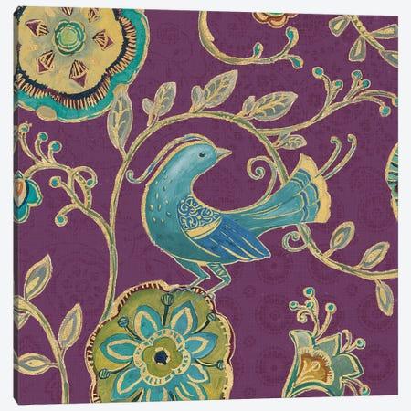 Aubergine Bohemian Wings IX Canvas Print #WAC6723} by Daphne Brissonnet Canvas Art Print
