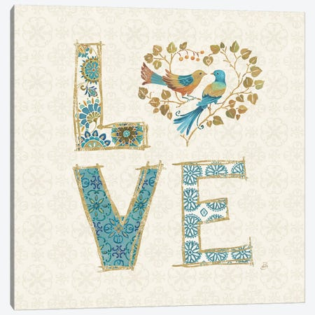 Love Tales IV Canvas Print #WAC6726} by Daphne Brissonnet Canvas Art