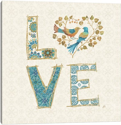 Love Tales IV Canvas Art Print
