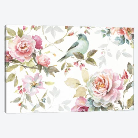 Beautiful Romance III Canvas Print #WAC6730} by Lisa Audit Canvas Wall Art