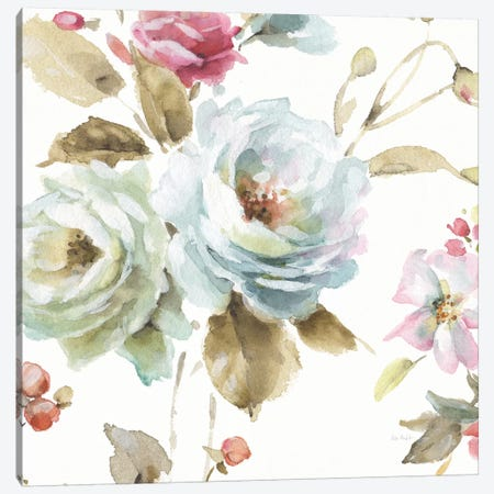 Beautiful Romance VI Canvas Print #WAC6733} by Lisa Audit Canvas Artwork