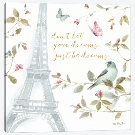 Beautiful Romance XX Canvas Print #WAC6747} by Lisa Audit Canvas Artwork