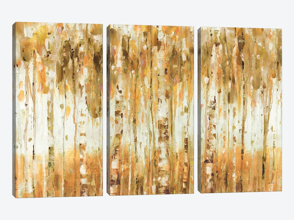The Forest I (Autumn) by Lisa Audit 3-piece Canvas Art Print