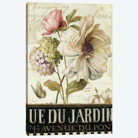 Marche de Fleurs II Canvas Print #WAC674} by Lisa Audit Canvas Art