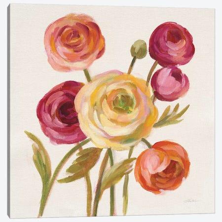 English Garden II Canvas Print #WAC6751} by Silvia Vassileva Canvas Wall Art