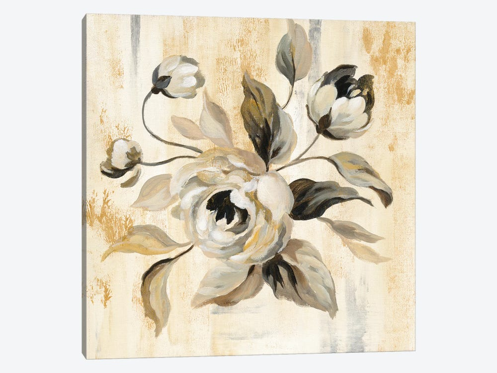 English Rose II by Silvia Vassileva 1-piece Canvas Wall Art