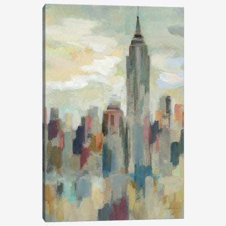 New York Impression Canvas Print #WAC6755} by Silvia Vassileva Art Print