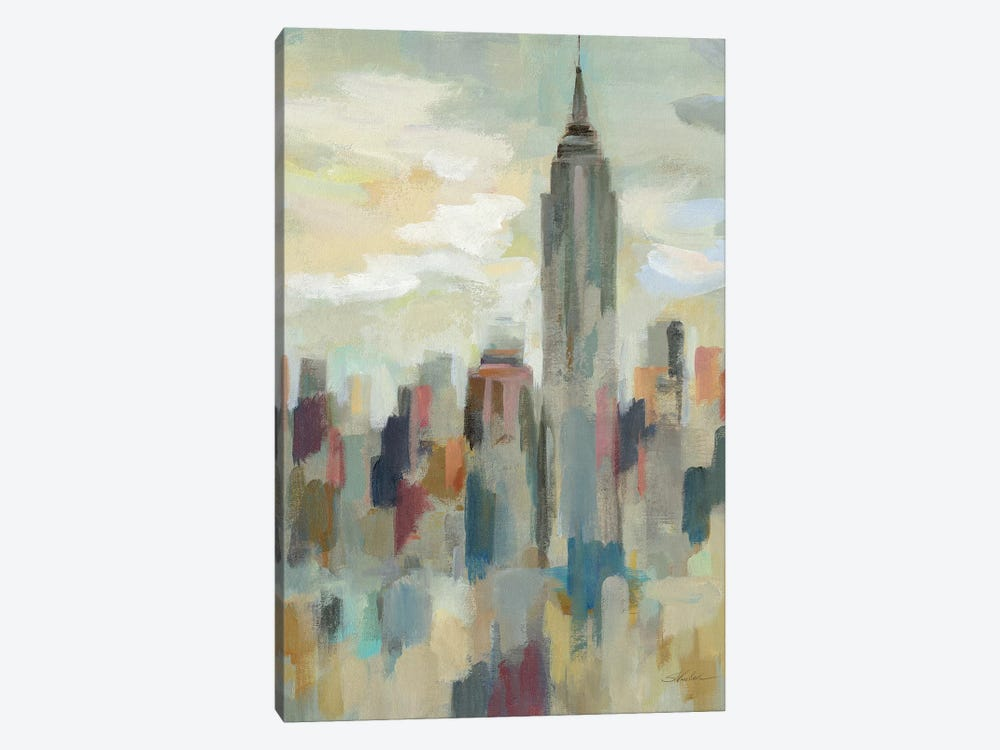 New York Impression by Silvia Vassileva 1-piece Canvas Art Print