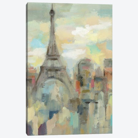 Paris Impression Canvas Print #WAC6756} by Silvia Vassileva Canvas Print
