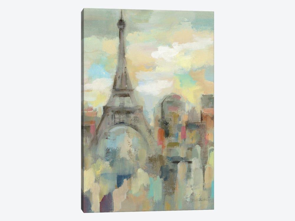 Paris Impression by Silvia Vassileva 1-piece Canvas Artwork