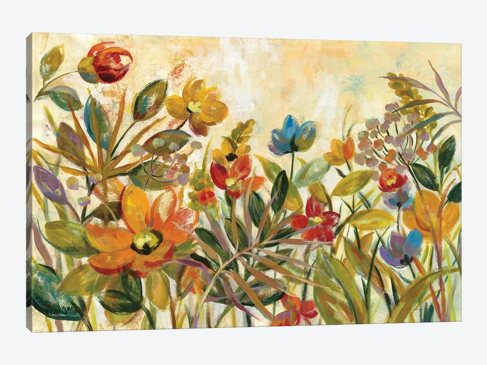 Rain Forest Floral by Silvia Vassileva 1-piece Art Print
