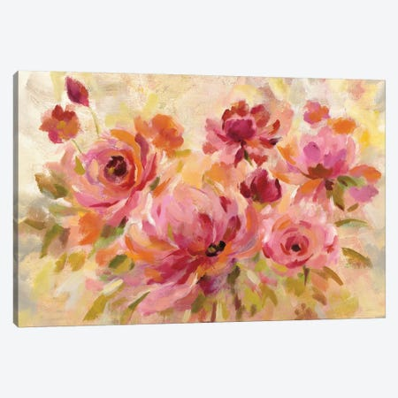 Romantic Bouquet Crop Canvas Print #WAC6758} by Silvia Vassileva Canvas Art