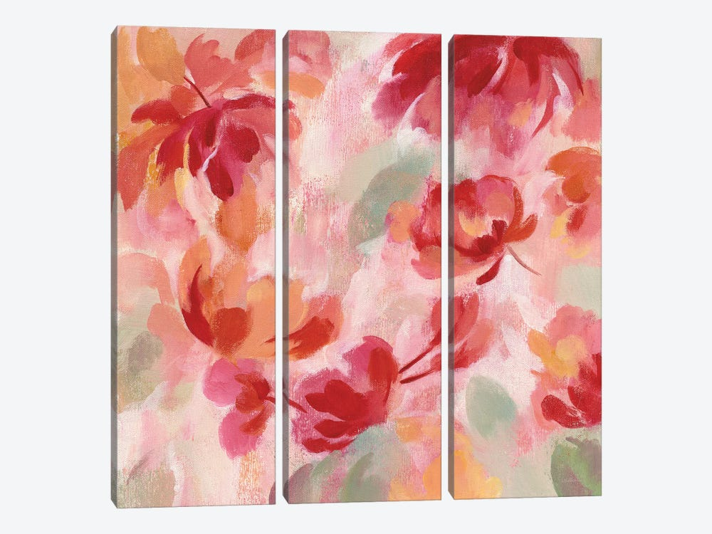 Spring Galore III by Silvia Vassileva 3-piece Canvas Artwork