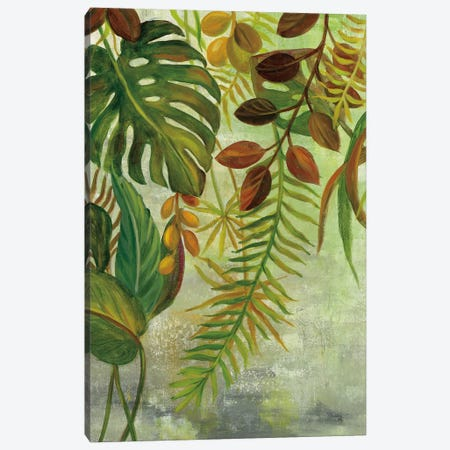 Tropical Greenery I Canvas Print #WAC6762} by Silvia Vassileva Canvas Print