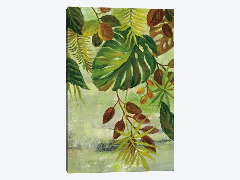 Tropical Greenery II 1-piece Canvas Art