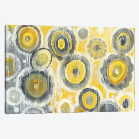 Abstract Circles Canvas Print #WAC6766} by Danhui Nai Canvas Art