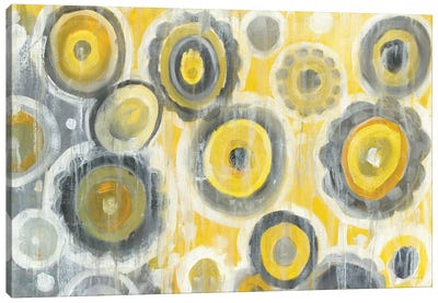 Abstract Circles Canvas Art Print
