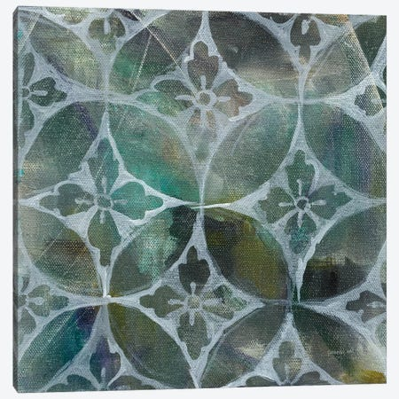 Tile Element II Canvas Print #WAC6770} by Danhui Nai Canvas Art