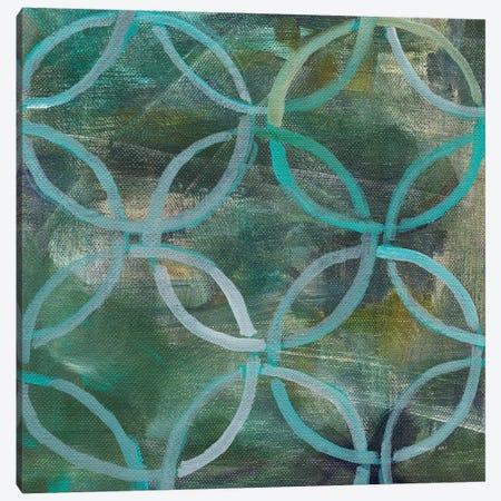 Tile Element III Canvas Print #WAC6771} by Danhui Nai Canvas Wall Art