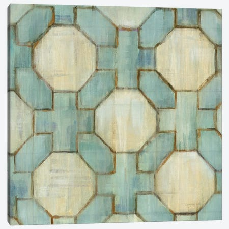 Tile Element V Canvas Print #WAC6772} by Danhui Nai Canvas Art
