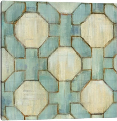 Tile Element V Canvas Art Print