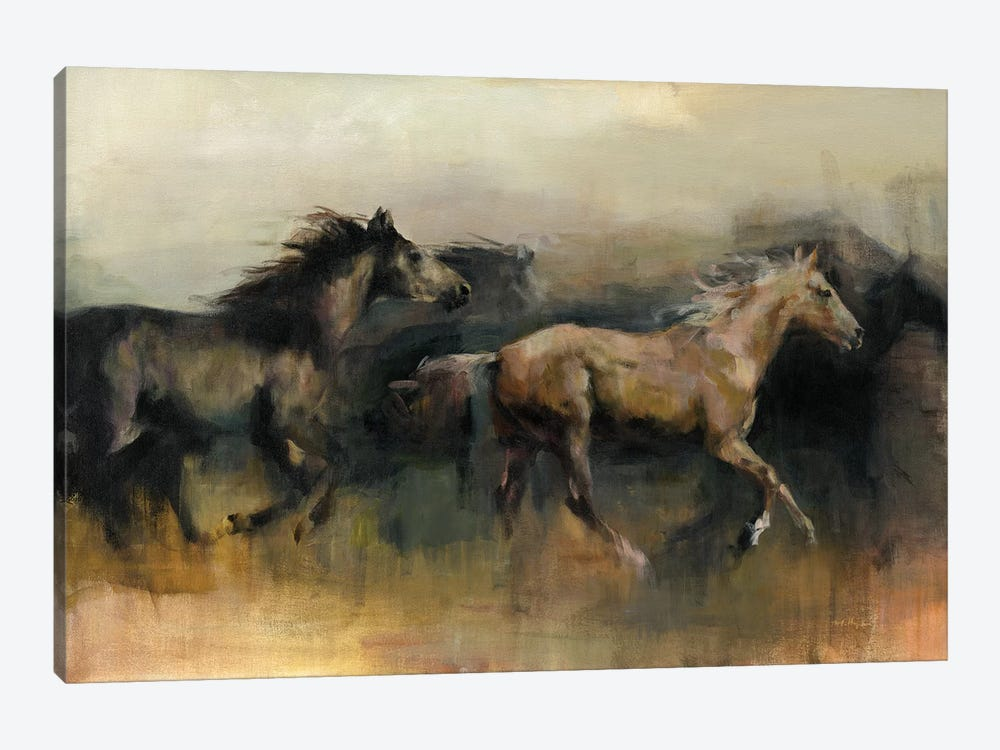Roaming The West by Marilyn Hageman 1-piece Canvas Print