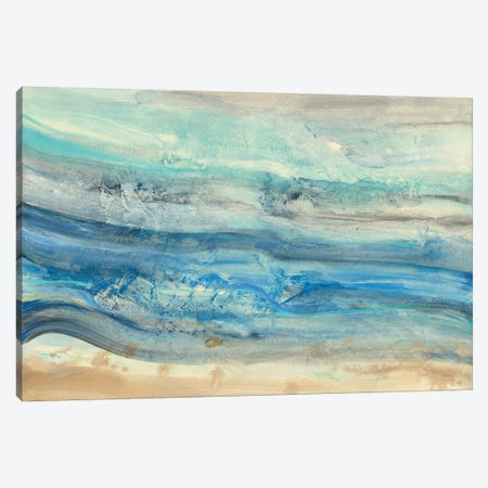 Ocean Waves Canvas Print #WAC6778} by Albena Hristova Canvas Art
