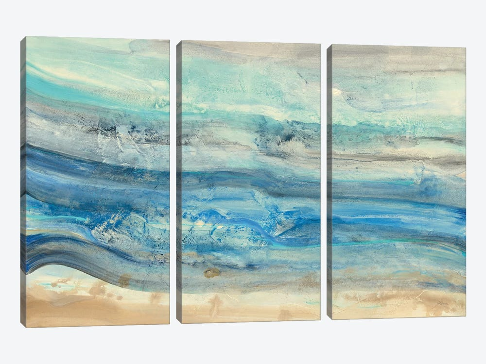Ocean Waves by Albena Hristova 3-piece Canvas Art