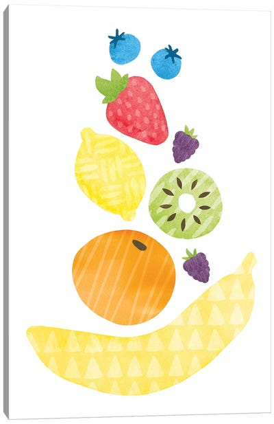 Funky Fruit I Canvas Art Print
