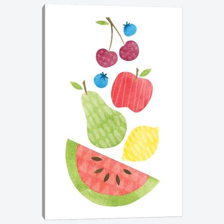 Funky Fruit II Canvas Print #WAC6780} by Moira Hershey Canvas Print