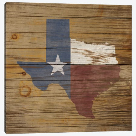 Lone Star Canvas Print #WAC6781} by Sarah Adams Art Print