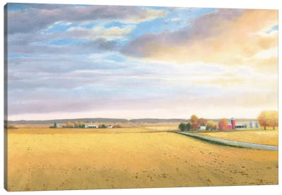 Heartland Landscape Canvas Art Print