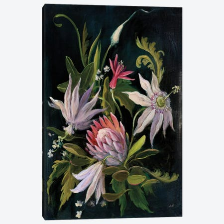 Flower Show I Canvas Print #WAC6785} by Julia Purinton Canvas Artwork