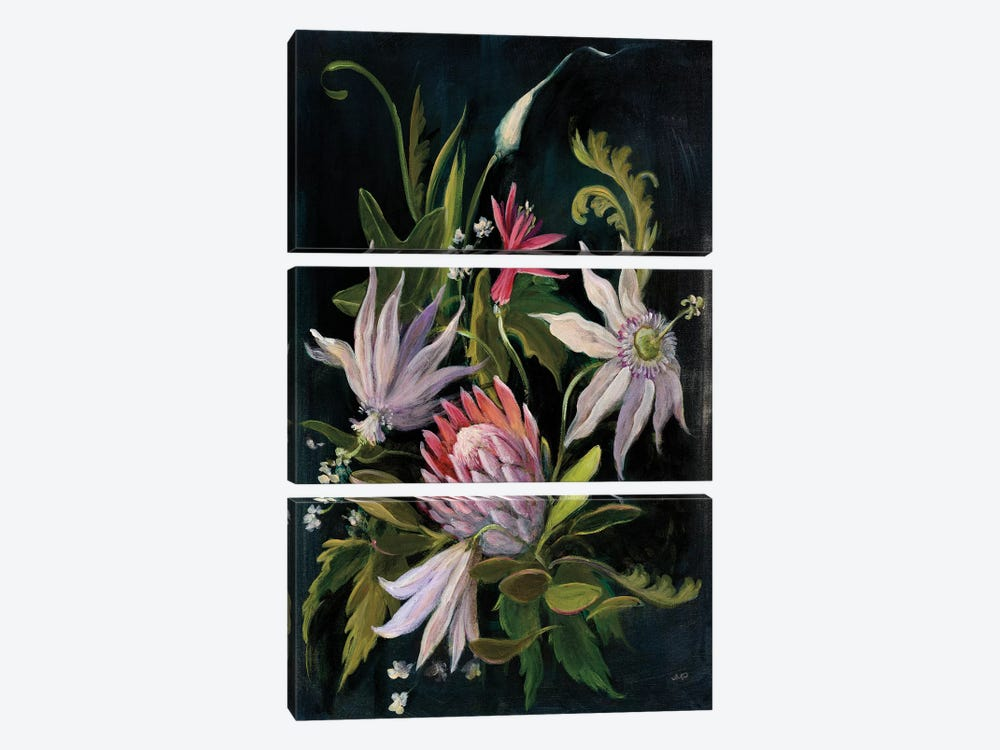 Flower Show I by Julia Purinton 3-piece Canvas Wall Art