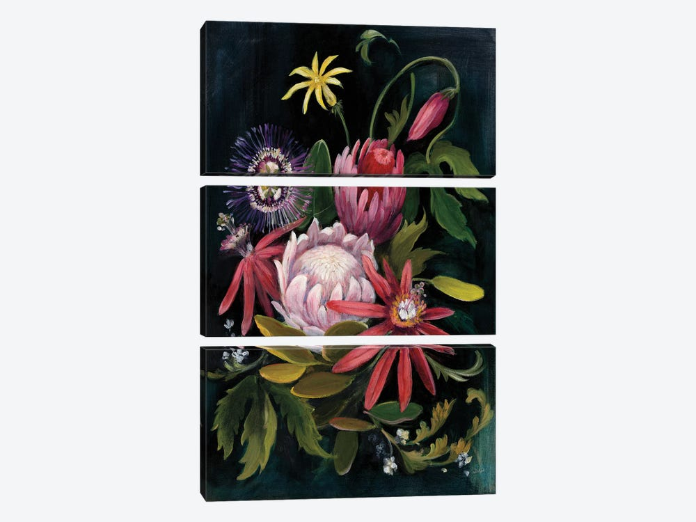 Flower Show II by Julia Purinton 3-piece Canvas Print