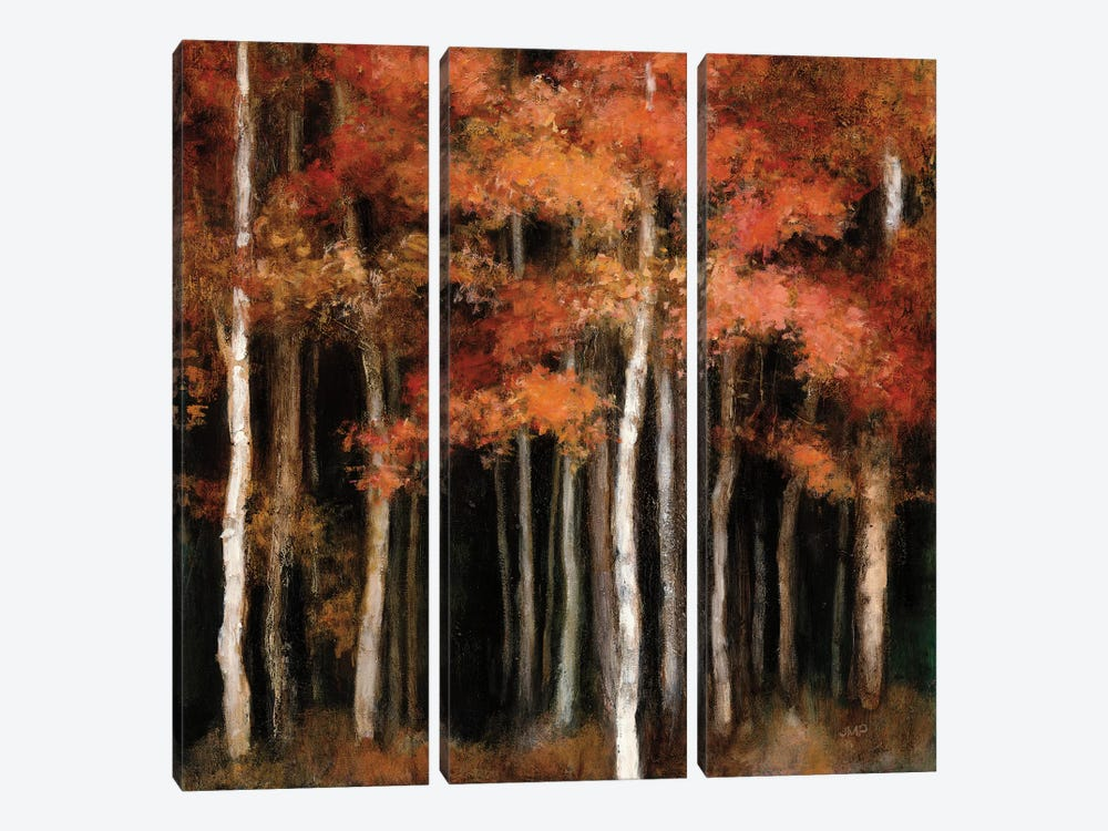 October Woods by Julia Purinton 3-piece Canvas Art