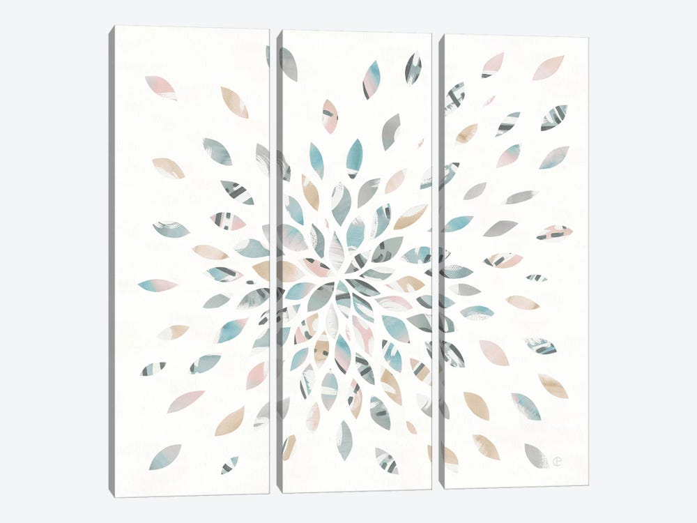 Fireworks II by Elyse DeNeige 3-piece Canvas Print